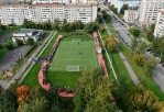 The new stadium was opened in Izhevsk on site of  Lyceum № 86