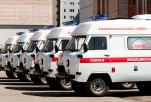 Foundation SAFMAR presented to The Republic of Udmurtia the next 5 ambulances