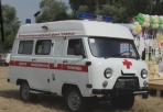With support of the SAFMAR foundation purchased new ambulances for rural hospitals